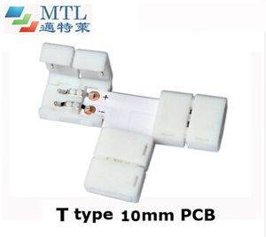 LED corner connector T type FPC-2P10MM-T