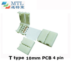 RGB corner connector T type FPC-4P10MM-T