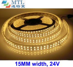 <b>24V Double-row 3528 LED strip 240LED/M</b>