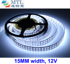 12V Double-row 3528 LED strip 240LED/M