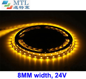 24V 3528 LED strip 8MM width 60LED/M