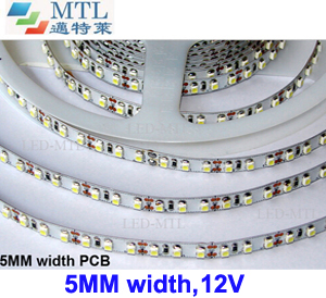 12V 3528 LED strip 5MM width 120LED/M