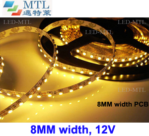 <b>12V 3528 LED strip 8MM width 120LED/M</b>