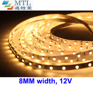 12V 3528 LED strip 30LED/M 8MM width